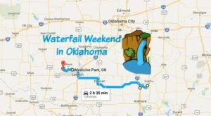 Here's The Perfect Weekend Itinerary If You Love Exploring Oklahoma's Waterfalls