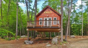 These Treehouses in Maine Will Give You An Unforgettable Experience