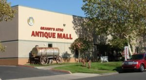 You'll Never Want To Leave This Massive Antique Mall In Southern California
