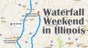 Here's The Perfect Weekend Itinerary If You Love Exploring Illinois's Waterfalls