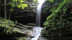 Walk Behind A Waterfall For A One-Of-A-Kind Experience In Illinois