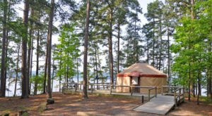 The Most Unique Campground In Arkansas That's Pure Magic