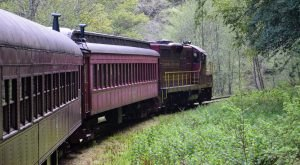 The One Train Ride In Northern California That Will Transport You To The Past