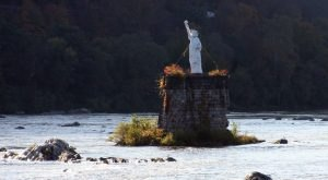 Visit A Little Statue Of Liberty In Dauphin, Pennsylvania