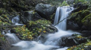The Northern California Hiking Area that Takes You To Not One But Four Waterfalls