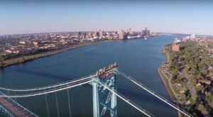 Someone Flew A Drone High Above Detroit And Captured The Most Breathtaking Footage