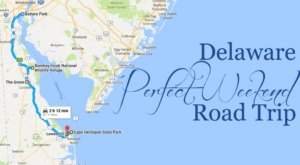 An Awesome Delaware Weekend Road Trip That Takes You Through Perfection