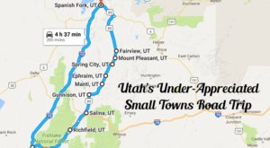 This Road Trip Takes You To Some Of Utah's Most Under-Appreciated Towns