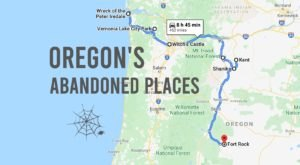 Take A Thrilling Road Trip To The 8 Most Abandoned Places In Oregon