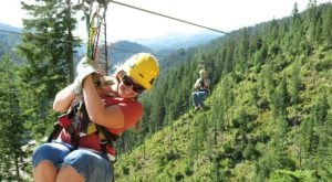 There's An Adventure Park Hiding In The Middle Of This Idaho Forest And You Need To Visit