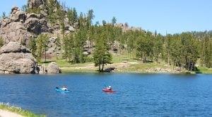 The Sapphire Lake In South Dakota That's Devastatingly Gorgeous