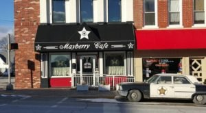 A Whimsical Restaurant In Indiana, Mayberry Cafe Is Full Of Delectable Home Cooking