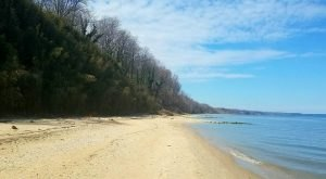 The Hidden Beach In Maryland That's Off The Beaten Path