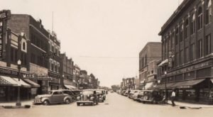 Nebraska's Major Cities Looked So Different In The 1940s. North Platte Especially.