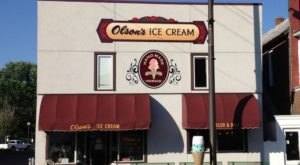 A Tiny Shop In Wisconsin, Olson's Serves Magnificent Homemade Ice Cream