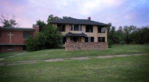 13 Staggering Photos Of An Abandoned Asylum Hiding In Oklahoma