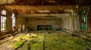 This Abandoned Masonic Temple Is Being Reclaimed By Mother Nature
