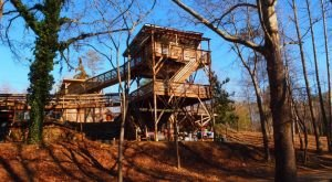 Sleep Underneath The Forest Canopy At This Epic Treehouse Near Washington DC
