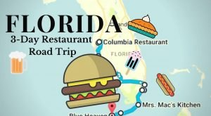 This Exciting 3-Day Restaurant Road Trip In Florida Will Treat Your Tastebuds