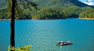 A Sapphire Body Of Water In Virginia, Carvins Cove Is Devastatingly Gorgeous