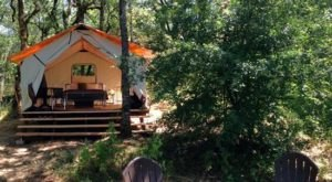 The Secluded Glampground Near Portland That Will Take You A Million Miles Away From It All