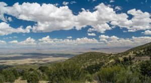 The Scenic, Breathtaking Drive In Nevada Where You End Up Among The Clouds