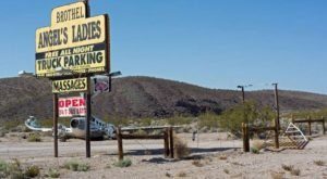 15 Staggering Photos Of An Abandoned Brothel Hiding In Nevada