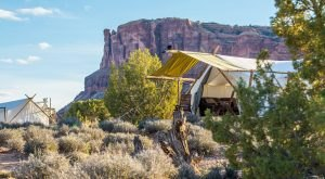 The Secluded Glampground In Utah That Takes You A Million Miles Away From It All