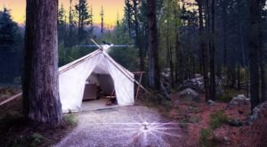 The Secluded Glampground In Montana That Will Take You A Million Miles Away From It All