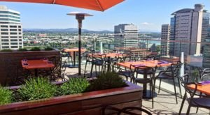 You'll Love This Rooftop Restaurant In Portland That's Beyond Gorgeous