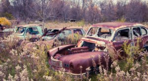 The One Stretch Of U.S. Highway That's Littered With Abandoned Sites