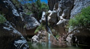 There's A Waterfall Hiding In This Southern California Desert And It's Beyond Spectacular