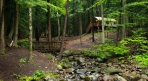 The Secluded Glampground In New York That Will Take You A Million Miles Away From It All