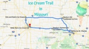 This Mouthwatering Ice Cream Trail In Missouri Is The Sweetest Adventure In The State