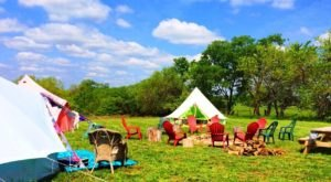 The Secluded Glampground In Kansas That Will Take You A Million Miles Away From It All