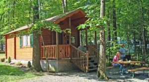 The Secluded Glampground Near Pittsburgh That Will Take You A Million Miles Away From It All