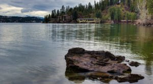 The Secluded Island Campground In Idaho That Will Take You A Million Miles Away From It All