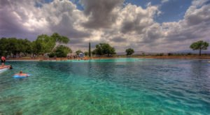 The World's Largest Spring-Fed Pool Is Right Here In Texas And You'll Want To Visit