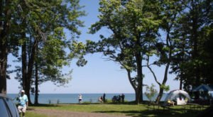 9 Spectacular Spots In Ohio Where You Can Camp Right On The Lake