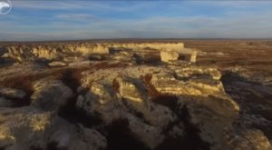 This Gorgeous Kansas Rock Formation Is Opening To The Public And You'll Want To Visit