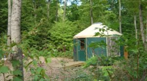 The Secluded Glampground In Michigan That Will Take You A Million Miles Away From It All