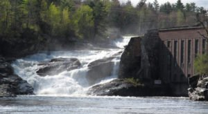 5 Gorgeous Maine Waterfalls Hiding In Plain Sight With No Hiking Required