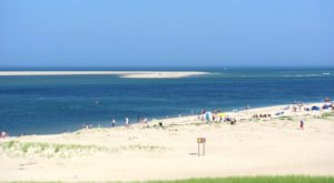 The Underrated Beach With The Whitest, Most Pristine Sand In Massachusetts