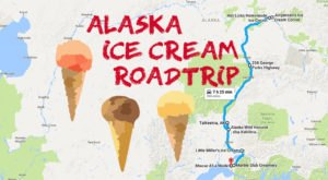 This Mouthwatering Ice Cream Trail In Alaska Is All You've Ever Dreamed Of And More