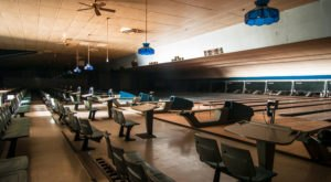 The Pins Are Still Standing At This Abandoned Bowling Alley That's Been Perfectly Preserved