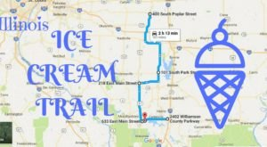 This Mouthwatering Ice Cream Trail In Illinois Is All You've Ever Dreamed Of And More