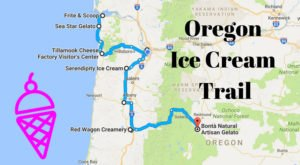 This Mouthwatering Ice Cream Trail In Oregon Is All You've Ever Dreamed Of And More