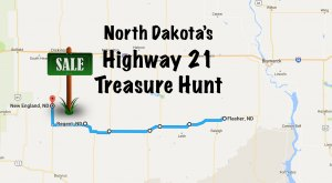A 100-Mile Yard Sale Goes Right Through North Dakota And It's Filled With Treasures