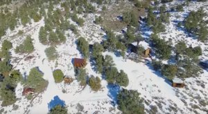 There's Something Terrifying About This Snowy Nevada Ghost Town