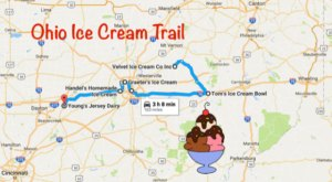 This Mouthwatering Ice Cream Trail In Ohio Is All You've Ever Dreamed Of And More
